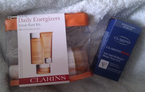 Clarins Daily Energizers Kit Clarins Men Anti-brillance Shine-Free Gel