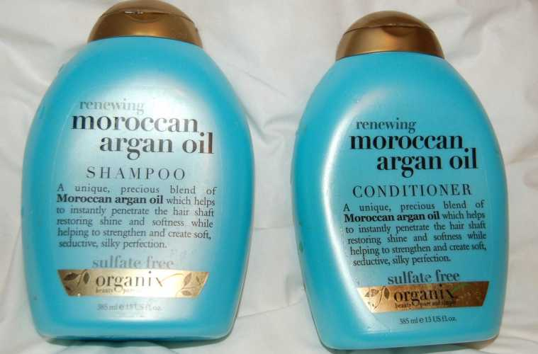Moroccan argan oil shampoo and conditioner review