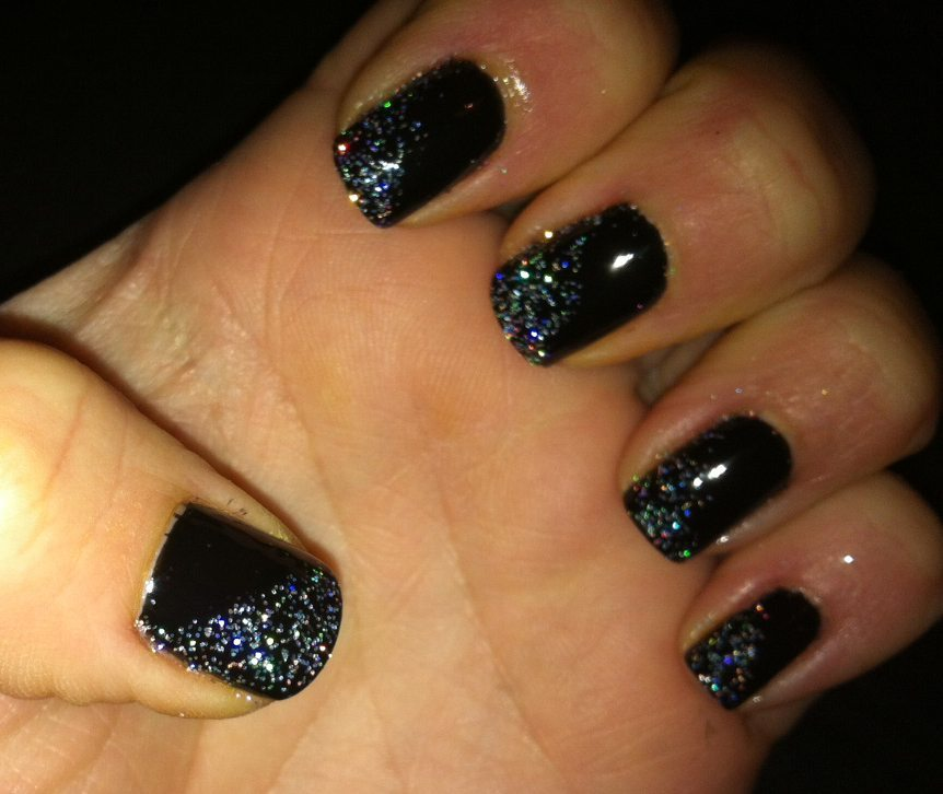 Tutorial and NOTD: New Years Eve Nails - 30SomethingMel