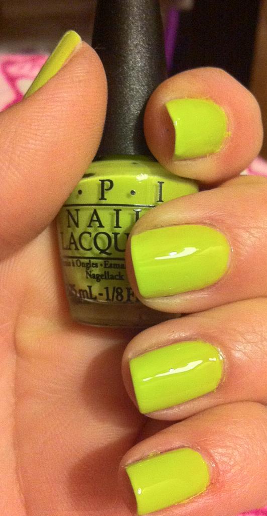 NOTD: OPI Nicki Minaj Minis Nail Varnish Collection - 30SomethingMel