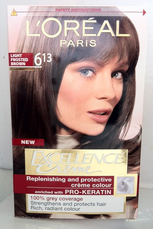 Review Loreal Excellence Creme Light Frosted Brown 613 Hair Colour