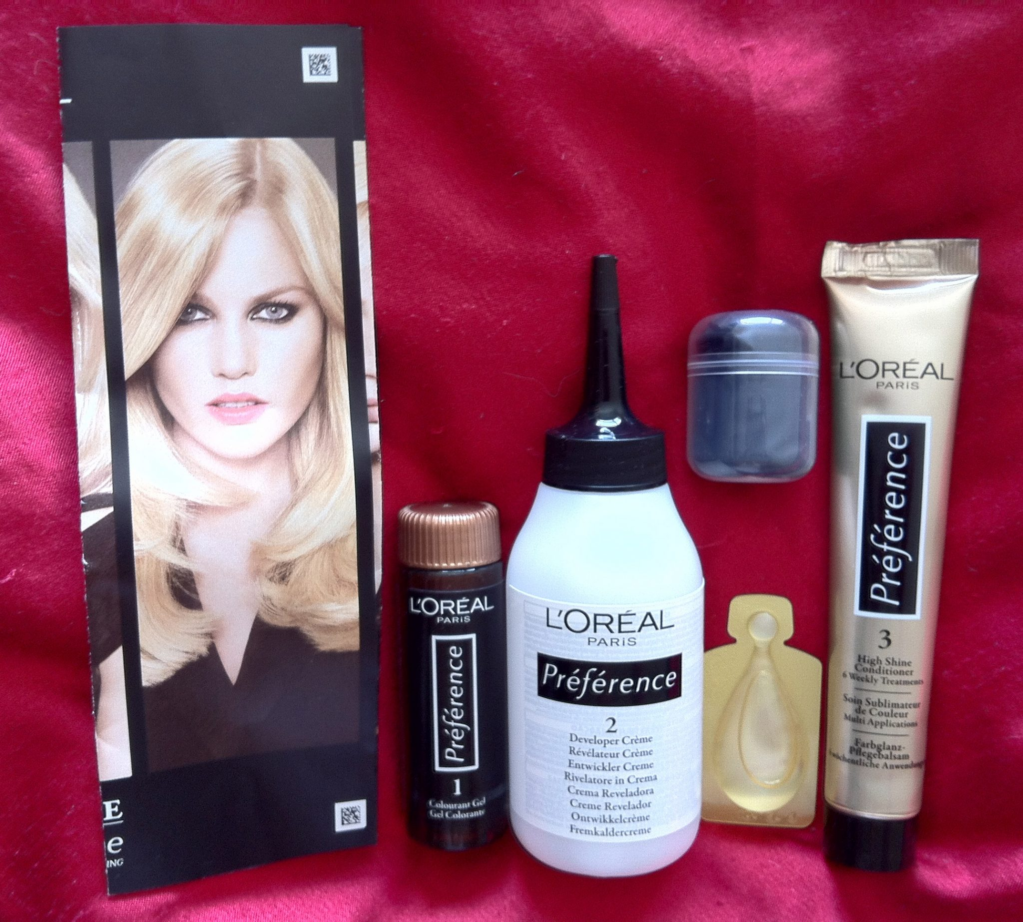 Review Loreal Recital Preference In 03 Lightest Ash Blonde