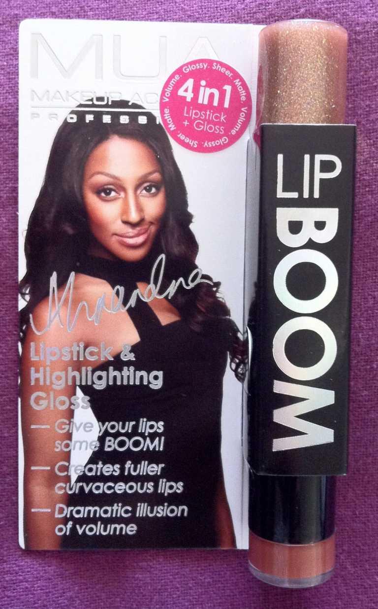 Review Mua Professional Eye Primer: Review: MUA Makeup Academy Professional Lip BOOM In Vibe