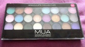 MUA Makeup Academy Professional Immaculate Collection Palette