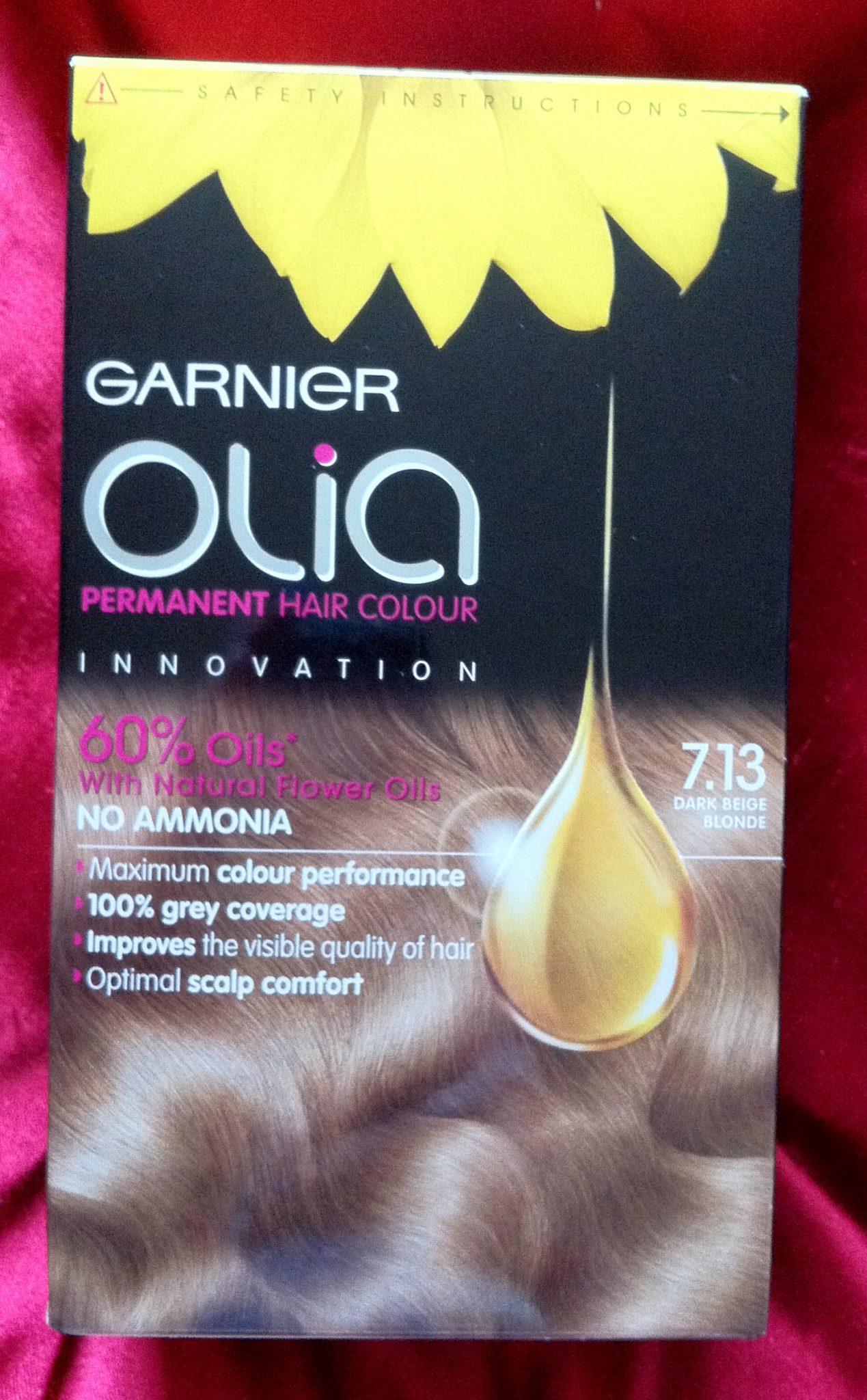 Review Garnier Olia Beige Dark Blonde 713 30somethingmel