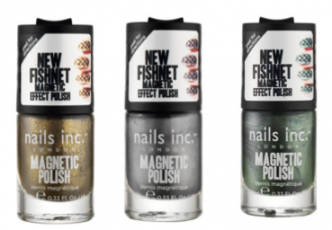 Nails Inc Fishnet Magnetic Polish Collection Colours