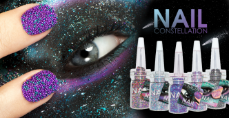 MUA Make Up Academy Nail Constellations