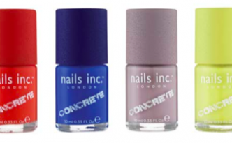 Nails Inc Concrete Polish Collection