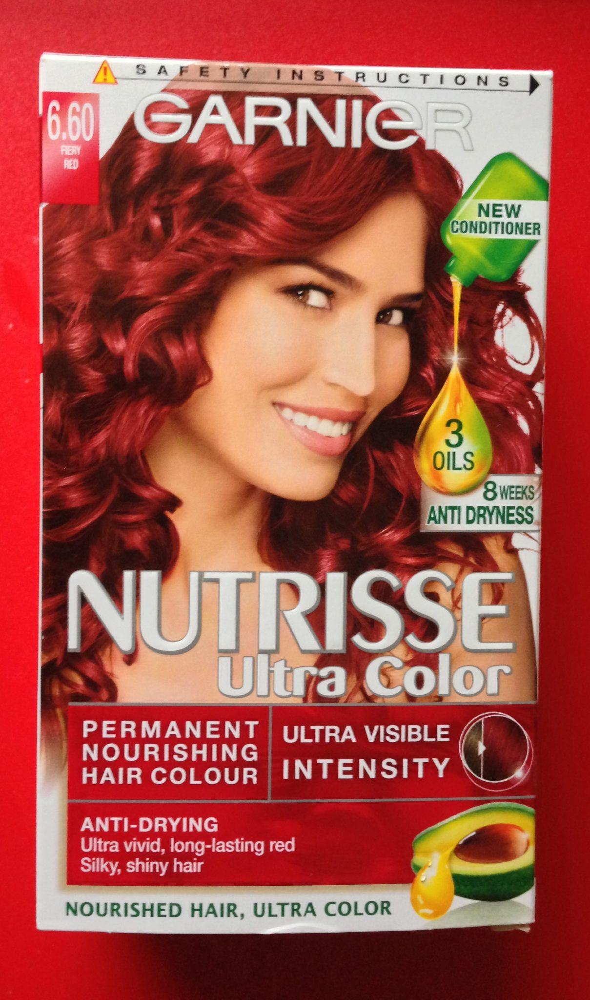 Review Garnier Nutrisse Ultra Color Fiery Red 660 30somethingmel