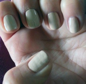 Barry M Gelly Nail Varnish in Lychee (GNP10) swatch