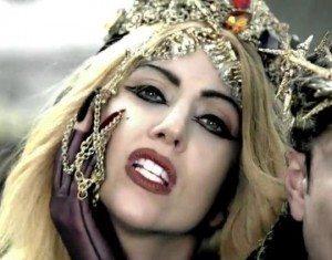 Lady Gaga Stiletto Nails