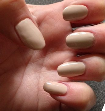 NOTD: Neutral Almond Shaped Nails and Happy Mother\'s Day ...