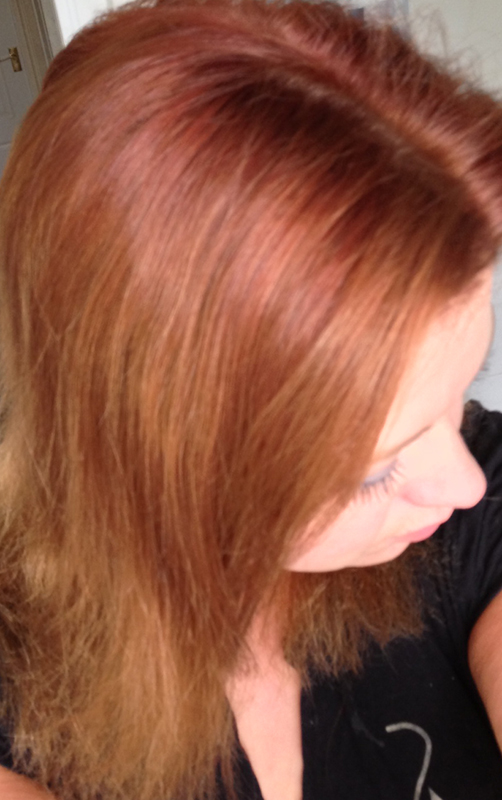 ... Experiment/Tutorial   Removing Dye From Your Hair Using Vitamin C   Hair  Before ...