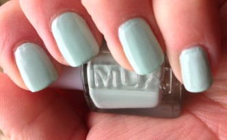 MUA Pistachio Ice Cream Nail Polish