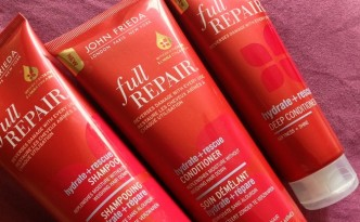 John Frieda Full Repair Hydrate + Rescue Shampoo, Conditioner and Deep Conditioner