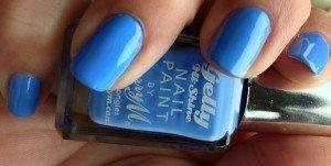 Barry M Gelly Polish Blueberry GNP5 - Swatch 2