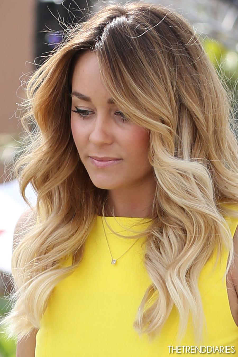 Хайлайтинг с эффектом омбре - при таком окрашивании прикорневая зона волос остается натурального...