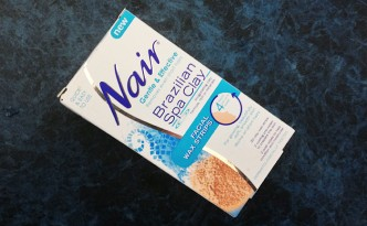 Nair Brazilian Spa Clay Facial Wax Strips