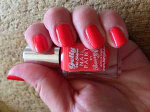 Barry M Jelly Nail Varnish in Satsuma (GNP7)