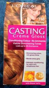 L'Oreal Castings Creme Gloss Golden Honey 730