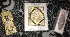 Paul & Joe Beaute Fairytale Collection - Lipstick in Far, Far Away (082), Eye colour Set in Princess (085) and Case (009)
