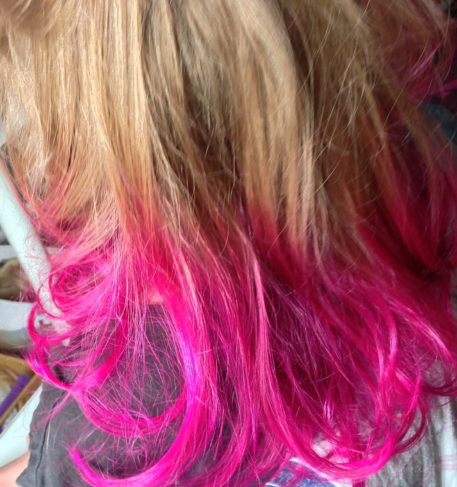 Review Crazy Color In Cyclamen On Blonde Hair 30somethingmel