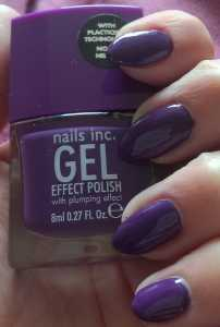 Nails Inc Gel Effect Nail Polish in Bond Street