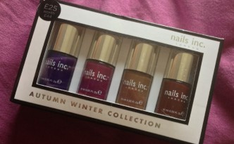 Nails Inc Autumn/Winter Collection 2013