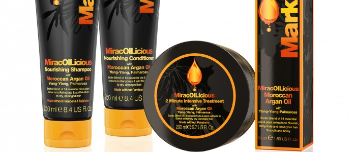Mark Hill MiracOILicious Range