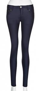 32in Navy Coated Skinny Jeans £22.99