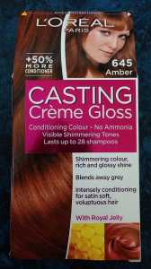 L'Oreal Casting Creme Gloss Amber 645