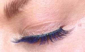 Eylure Katy Perry Color Pop Lashes Ka-Boom!the band is a little heavy but easily concealed with liner if you choose