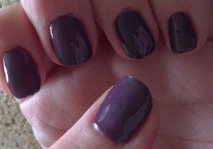 nutra nail gel perfect 5 minute gel colour manicure in