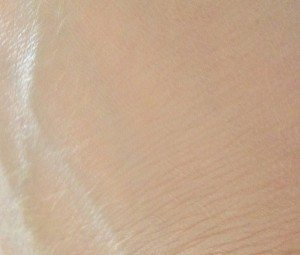 Maybelline SuperStay 24Hour Foundation in Sand - Swatch blended