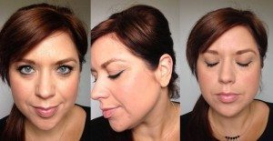 HOTD/FOTD: Retro Ponytail (Hair Extensions) and Winged Green Liner