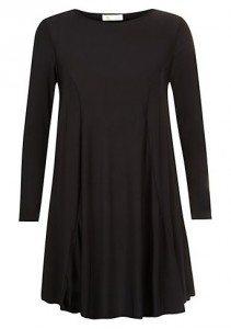 Cameo Black Long Sleeved Swing Dress £19.99