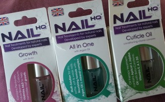 Nail HQ Growth, All in One and Cuticle Oil