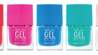 Nails Inc Spring/Summer 2014 Gel Effect Polishes