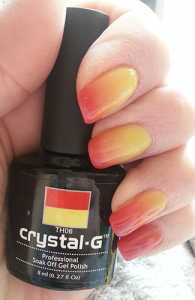Crystal-G Colour Change Gel Nail Polish in TH06