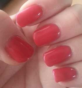 Crystal-G Colour Change Gel Nail Polish in TH06 - Normal nail temperature or cold nails swatch