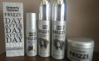 Umberto Giannini Frizzi Hair Care Range