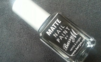 Barry M Matte Nail Polish in Expresso MNP1