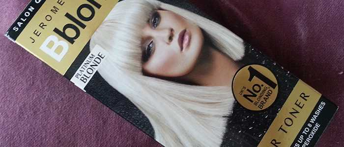 Jerome Russell Bblonde Platinum Blonde Colour Toner