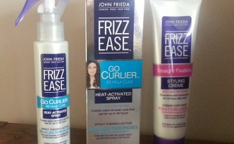 John Frieda Frizz Ease Straight Fixation and Go Curlier