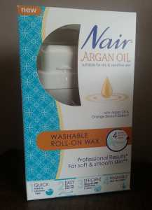 Nair Argan Oil Washable Roll-On Wax