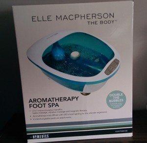 Elle Macpherson Aromatherapy Foot Spa