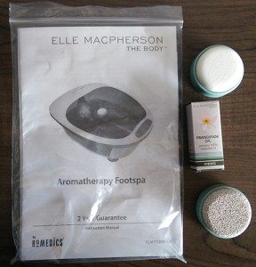 full instructions, 2 pumice stones and aromatherapy oil also come with the foot spa