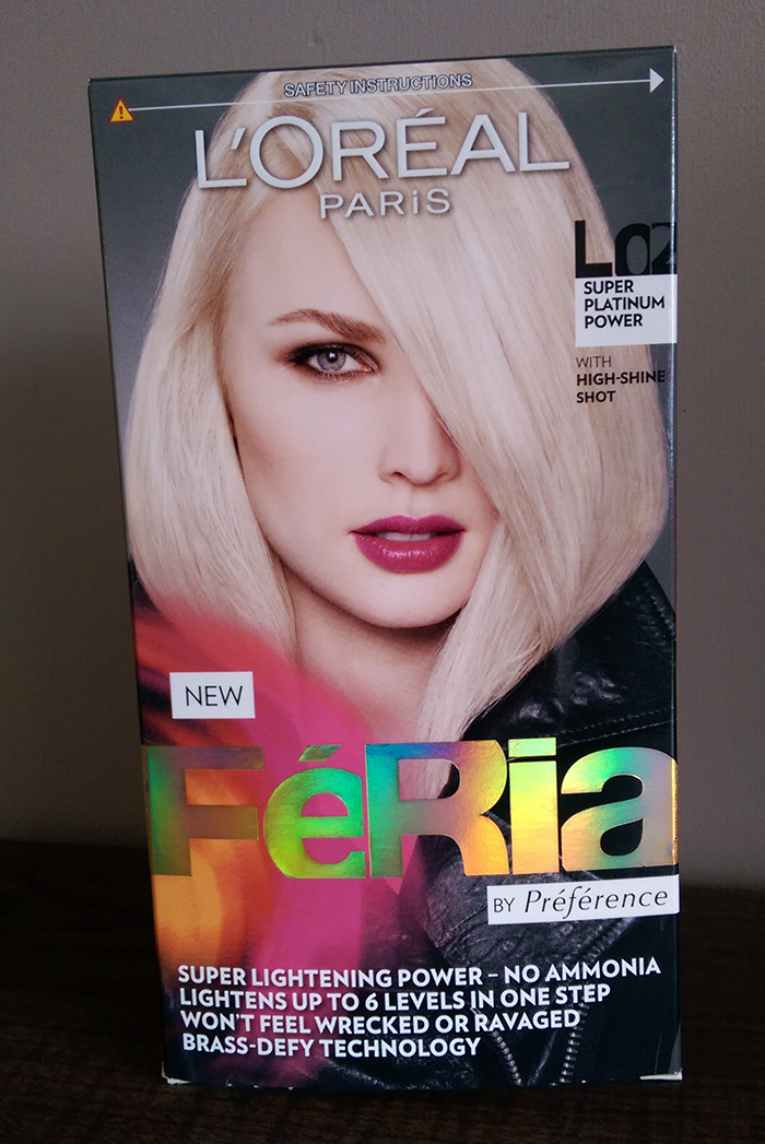 Loreal Feria Colour Super Platinum L02 30somethingmel