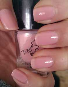 Tanya Burr by eyeCandy Pastel Nail Polishes - Mini Marshmallows Swatch