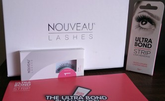 Nouveau Lashes  #UltraBondChallenge using Ultrabond Strip Lash Adhesive